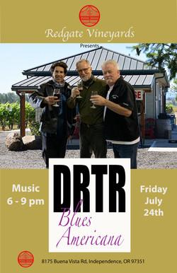 DRTR at Redgate poster