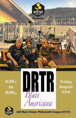 DRTR at Nectar Creek poster