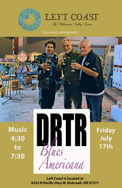 DRTR at Left Coast poster