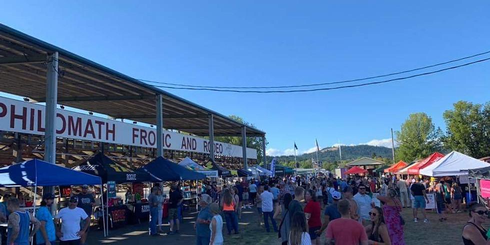 DRTR at Philomath Brew & Wine Fest