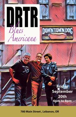 DRTR at Dog 9-20-19 poster