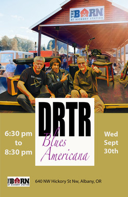 DRTR at The Barn poster