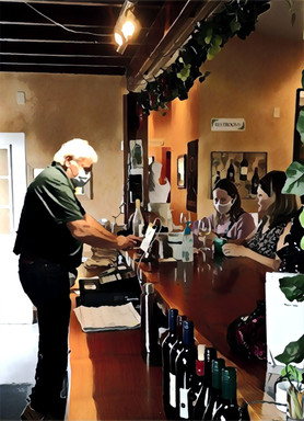 Steve Dunn working the bar.jpg