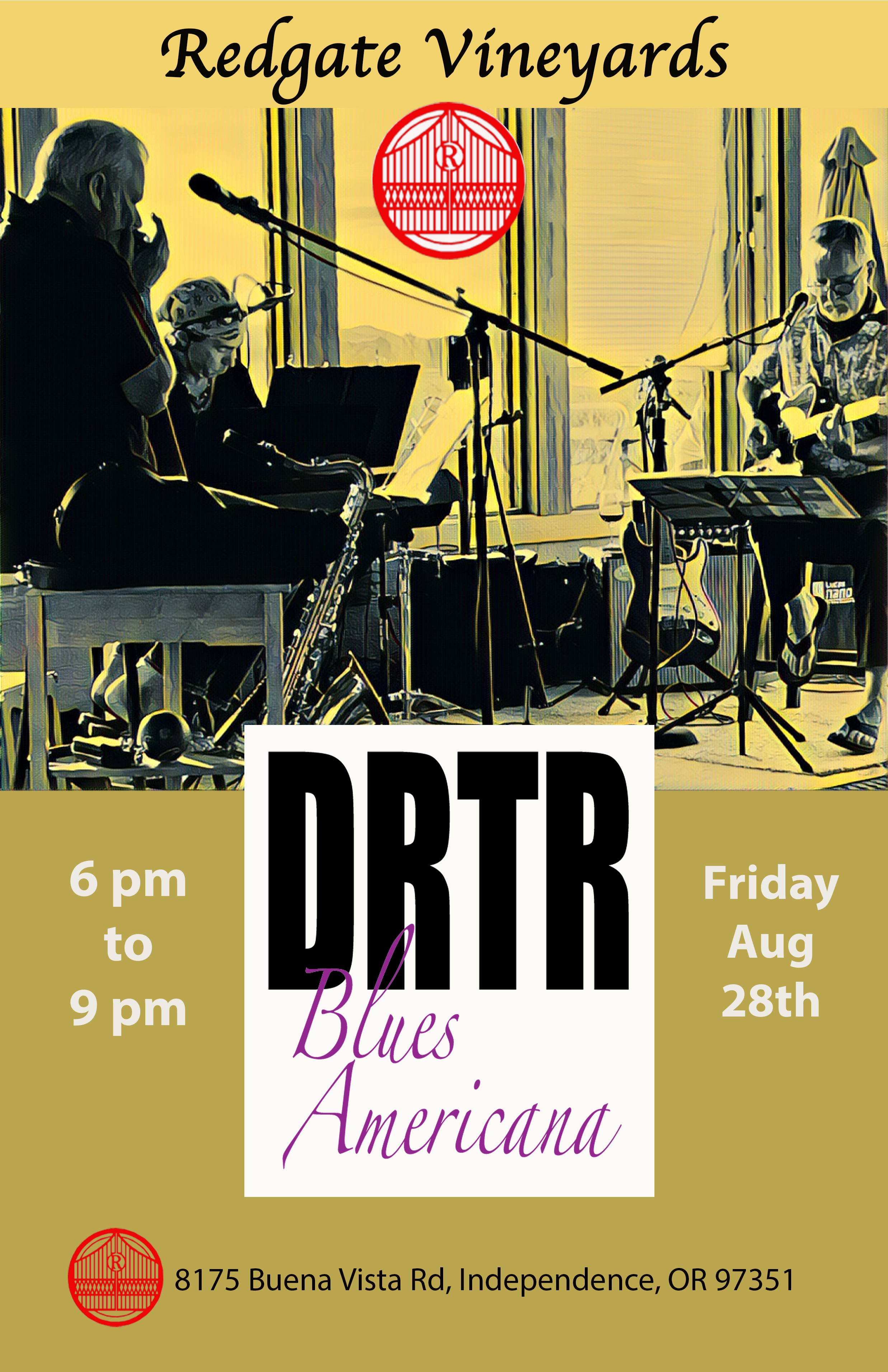 DRTR at Redgate August 2020 poster
