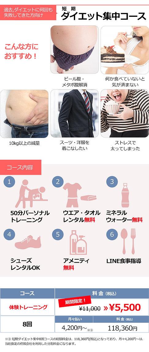 短期ダイエット集中コース料金表SP2.jpg