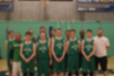 2017/18 Bury St. Edmunds Basketball Club Senior Reserve Team
