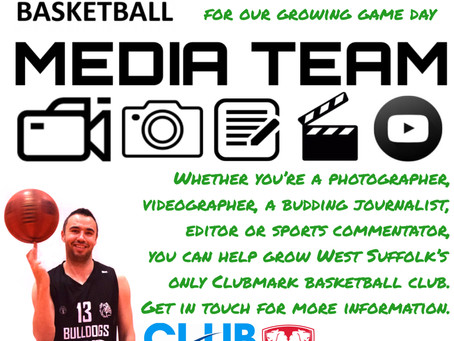 Media Opportunities at Bury St. Edmunds Basketball Club
