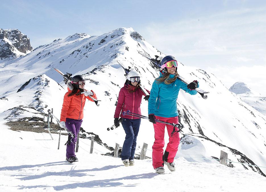 La nieve ideal para el snowboard