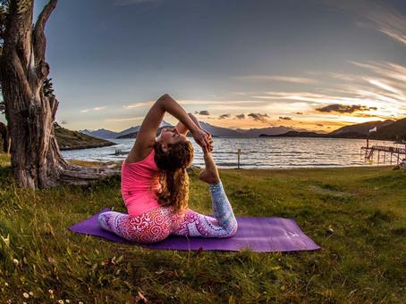 Yoga y meditación en el Fin del Mundo.