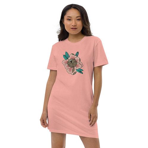 Robe t-shirt en coton bio