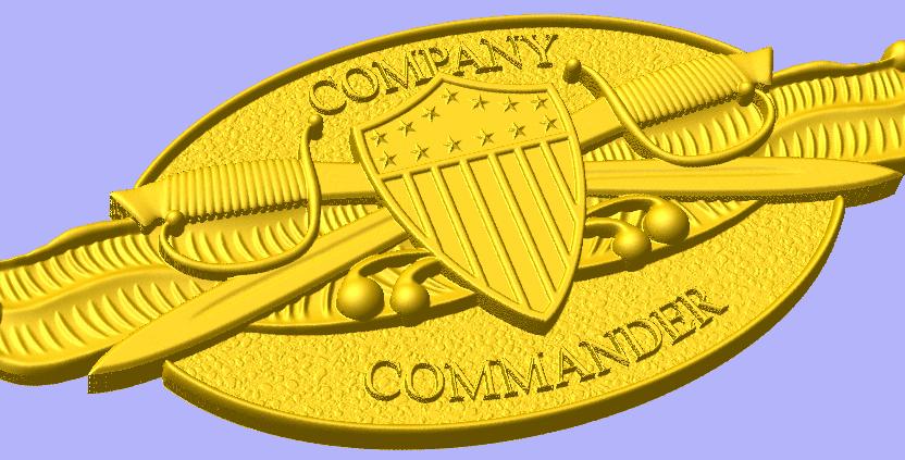 Company Commander Insignia