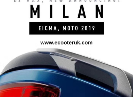 Join us at EICMA to see the new E2 MAX!