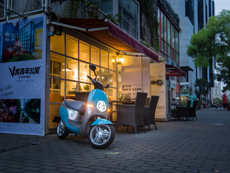 Electric Mopeds in the UK