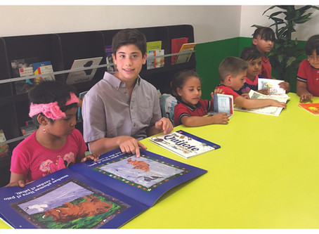 12-Year-Old Danny Zappin Raises Funds for a Library in Mexico