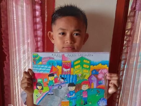 Student Artwork For Online Health & Hygiene Program