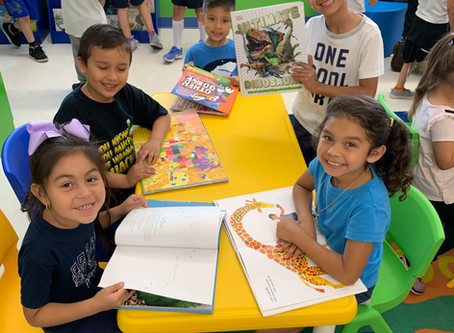 Perry Family Library Opens in Los Angeles!