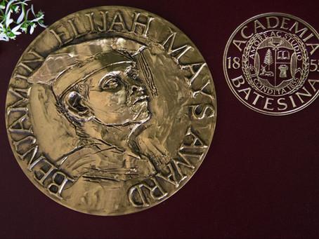 James J. Owens Wins The Benjamin E. Mays Medal