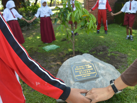 1,000th Tree Planted in Dr. Jane Goodall's Honor