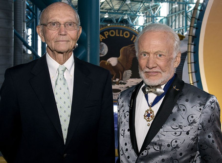 """Buzz Aldrin, Other Space Celebrities Write About Love of Reading in """"The World is Just a Book Away"""""""