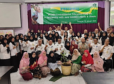 Roots & Shoots Training Program in Indonesia