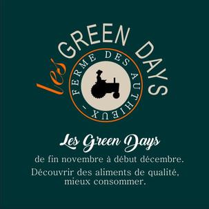 Les Green Days de la ferme des Authieux