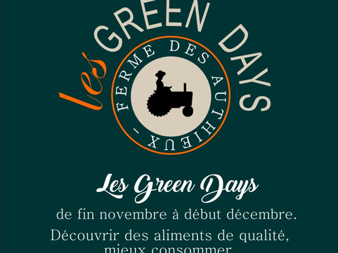 Les Green Days de la ferme des Authieux