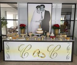 Bodas de ouro #bodas #placaserv #placas #placa de obra #fachada #luminoso #letreiro #paineis #plotag
