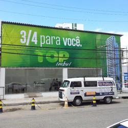 Painel em lona impressa #placaserv #placas #letreiros #fachadas #plotagem #adesivos #painéis #banner