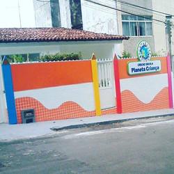 Projeto Especial #Placaserv #fachada #placa #painel #luminoso #letreiro #plotagem #placasdeobras #si