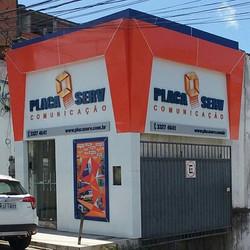 Casa de ferreiro! #Placaserv #fachadas #placas #painel #letreiros #luminosos #banners #placas