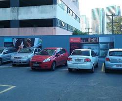 Painel em lona #placaserv #paineis #plotagem #fachadas #adesivos #comunicacaovisual #letreiros #bann