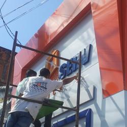 Projeto fachada #placaserv #plotagemdeveiculo #placas #letreiros #luminosos #paineis #adesivos ##ban
