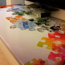 Mosaico em acrilico 10mm #Placaserv #Placas #letreiro #luminosos #plotagem #painéis #banner #sinaliz