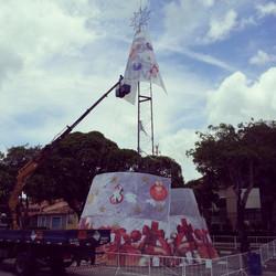 Projeto Arvore de Natal #Placaserv #Placas #letreiro #luminosos #plotagem #painéis #banner #sinaliza