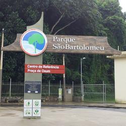 Projeto Parque São Bartolomeu #Placaserv #Placas #letreiro #luminosos #plotagem #painéis #banner #si