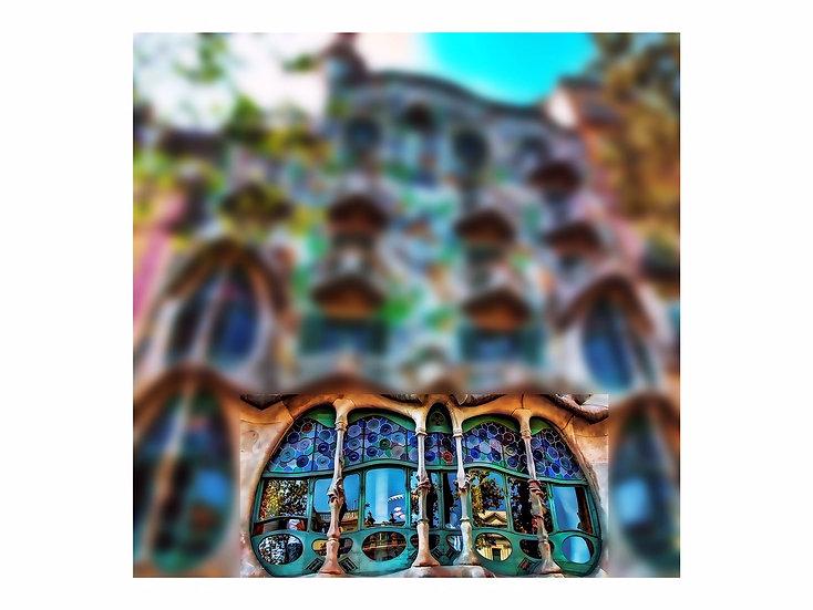 Lourdes Peñaranda - Serie Desenfoques Barcelona