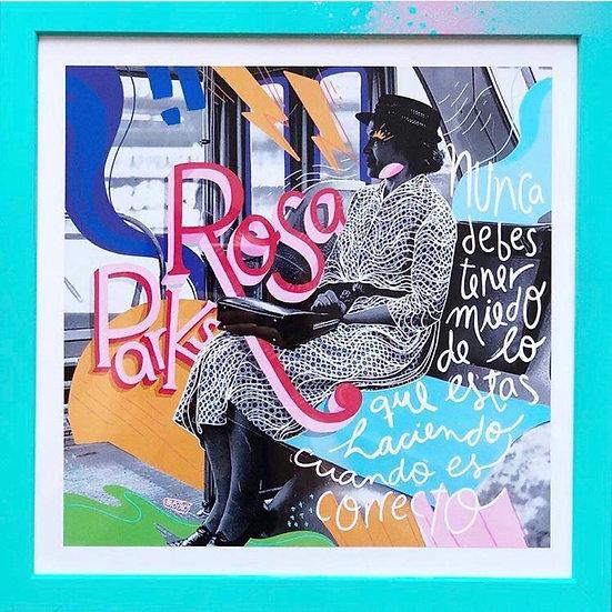 Paola Rosales - Retrato Rosa Parks
