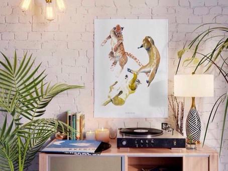 Tips para seleccionar una obra de arte para tu casa u oficina: En Miluna Life & Art te asesoramos