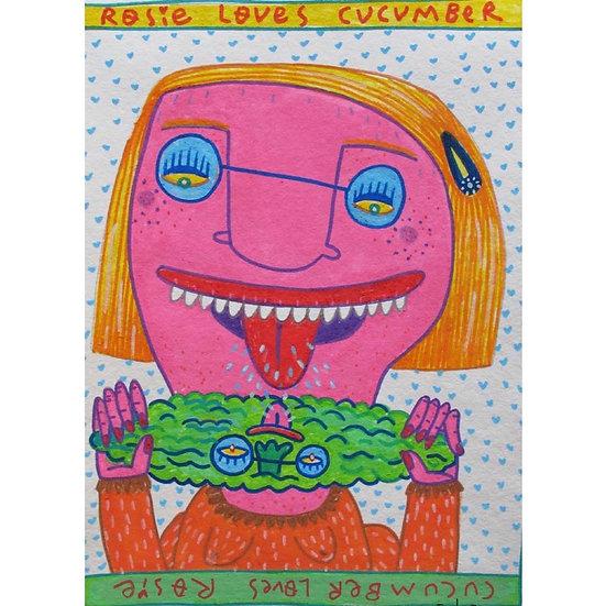 Vicenc Ramírez - Rosie loves cucumber - Cucumber loves Rosie