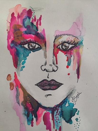 Juliana Bach - Serie: Ella llueve, 3