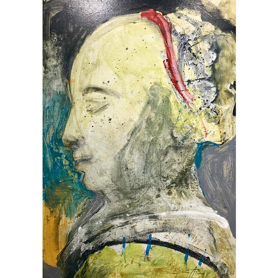 Dina Atencio - Detalle de Vermeer