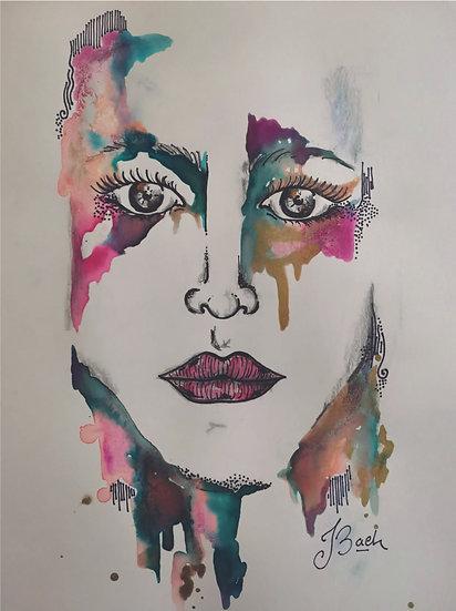 Juliana Bach - Serie: Ella llueve, 5