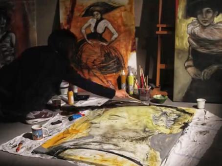 """""""Detalle de Vermeer"""" y la maravillosa experiencia de la creación artística de Dina Atencio"""