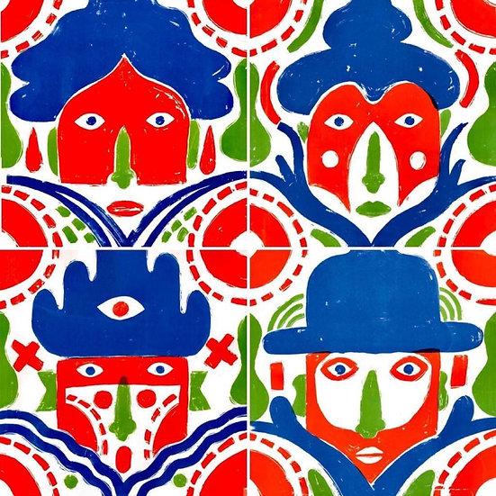 Jan Barceló - Family Faces carpeta de 4
