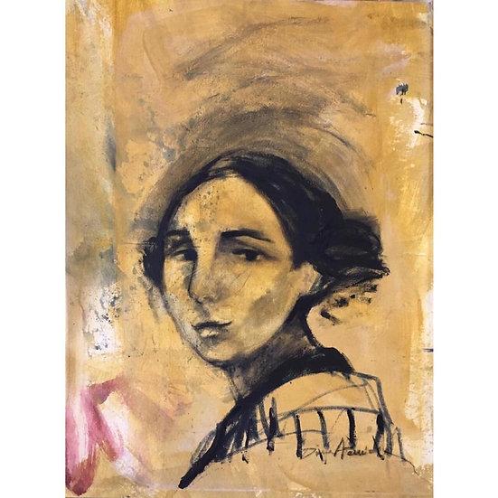 Dina Atencio - Cabeza de mujer 1