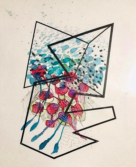 Luis Gómez - Collage Sin Título