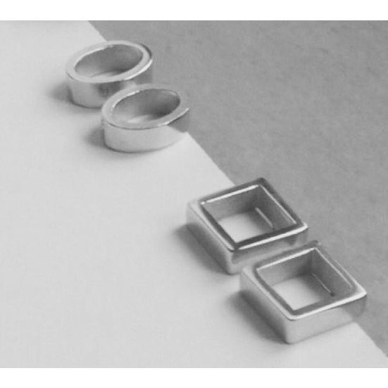 Diana Parés - Earrings Basic Silver