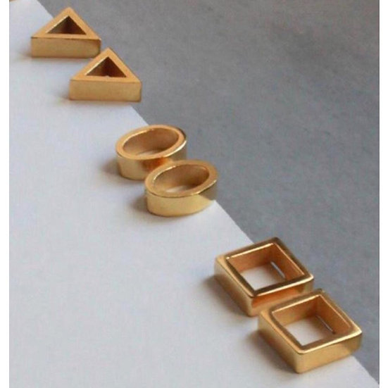 Diana Parés - Earrings Basic Gold