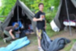 Un séjour sous la tente prospecteur au Camp Olier