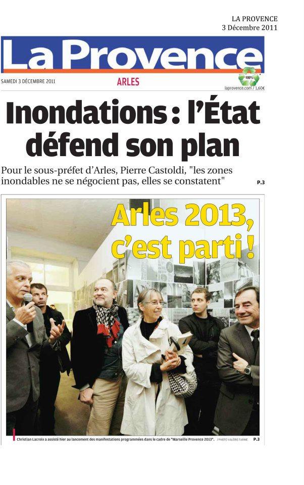 La Provence Novembre 2012